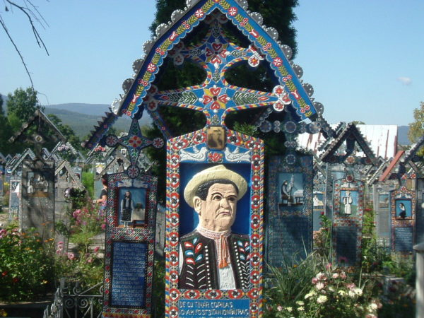 Merry Cemetery from Maramures-