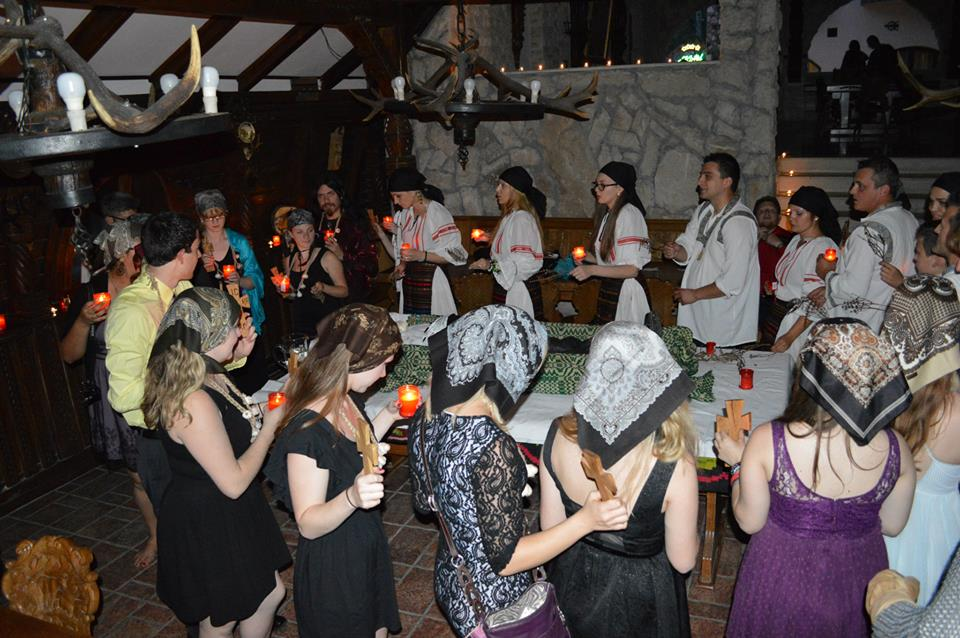 Ritual Killing of a Living dead in Vampire in Transylvania -the awarded Transylvania Dracula tour from Bucharest