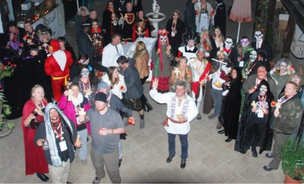 Sighisoara, the best Halloween party in Transylvania-Romania tours from Budapest