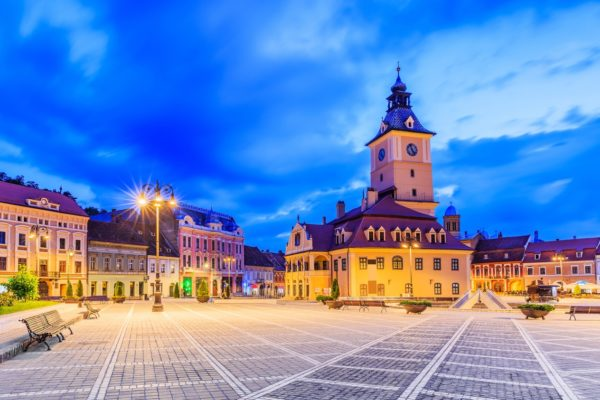 Brasov seen in Vampire in Transylvania Dracula tour and Best of Romania tours-Romania Transylvania tour