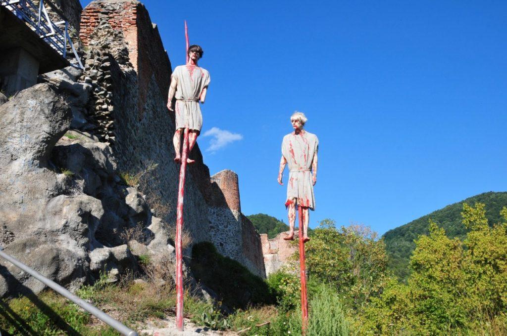 Dracula tour Romania- impaled traitors
