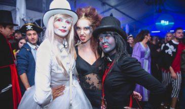 Dracula's Castle Halloween party