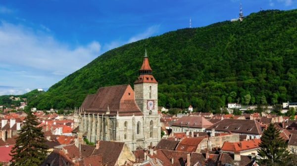 Black Church from Brasov