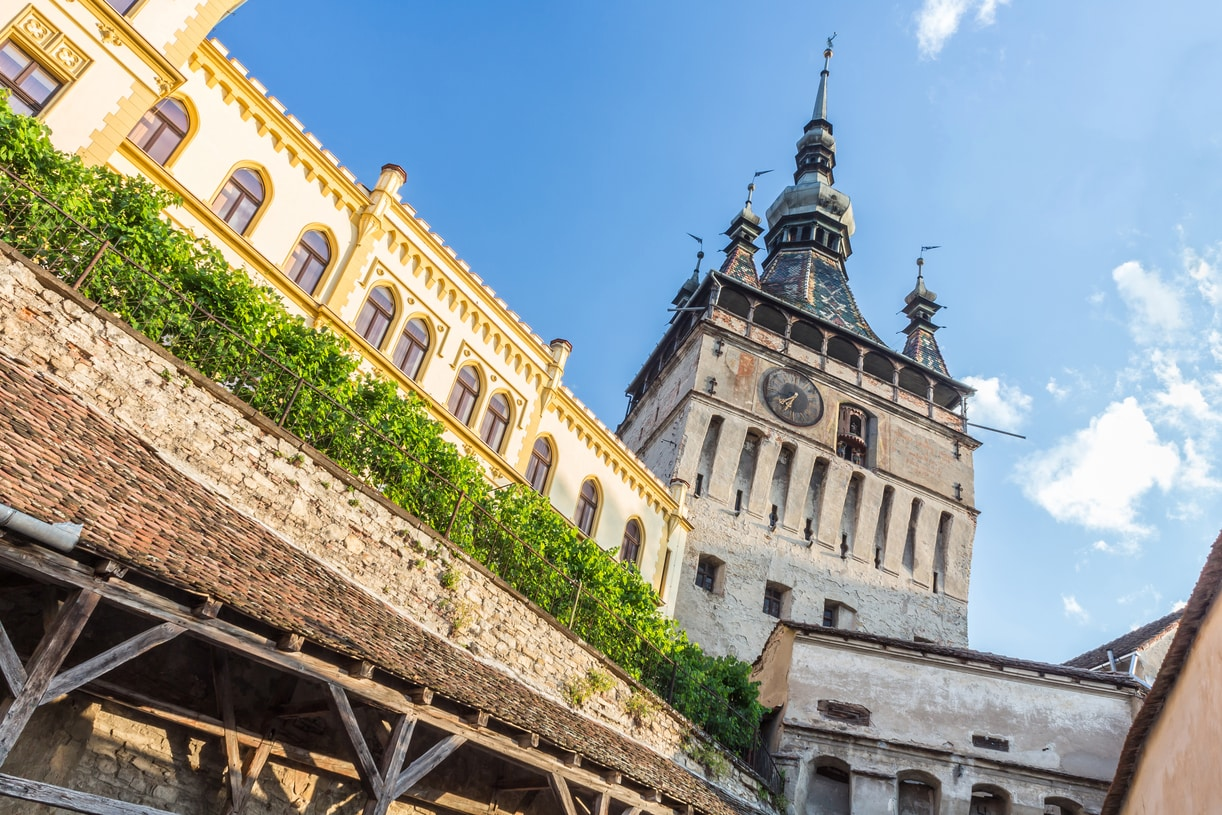 Sighisoara medieval citadel-Dracula tour in Romania
